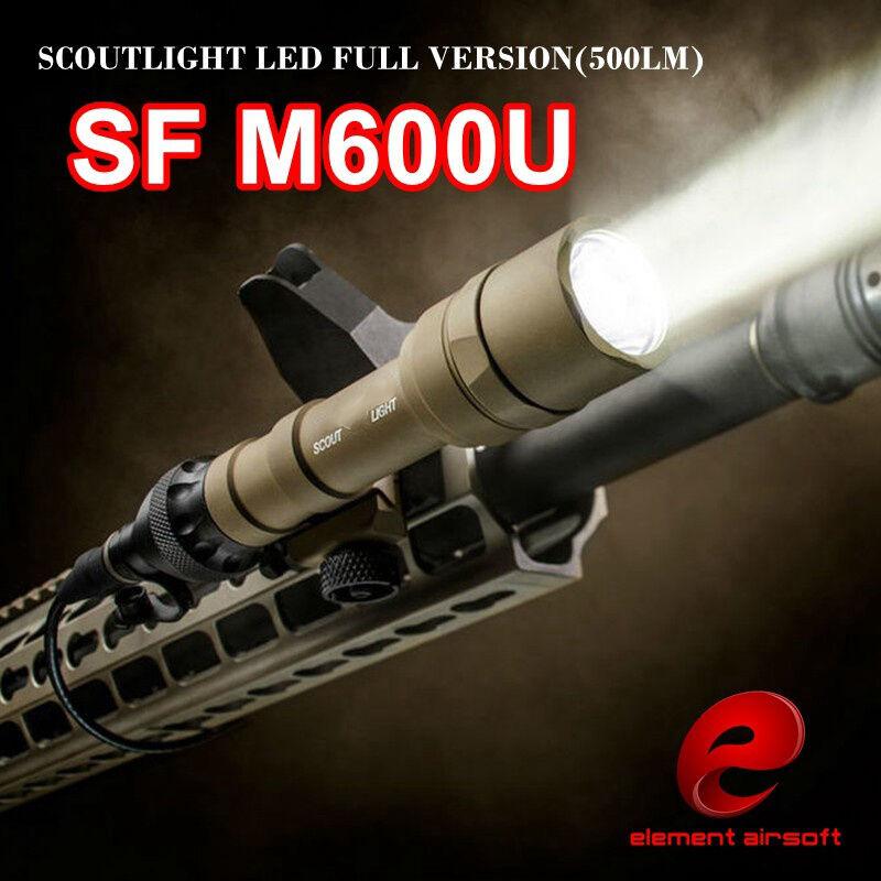 Elemento Airsoft M600U cobra luz táctica Airsoft luz 500 Lm Luz de armas