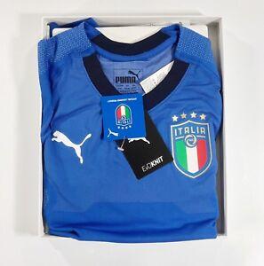 f157f38acfb Italy 2018-19 Puma Evoknit Player Issue Football Shirt (s-xl) RRP ...