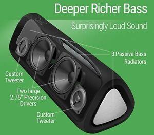 Cambridge-Soundworks-OontZ-Angle-3XL-Ultra-Bluetooth-Wireless-Speaker-Black