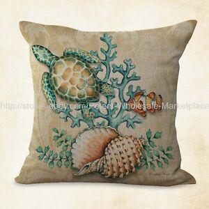 Modern Throw Pillows Turtle Shell Cushion Cover Ebay