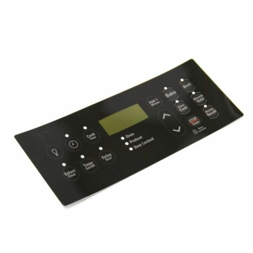 Frigidaire 316419503 Range Oven Control Overlay Genuine OEM part