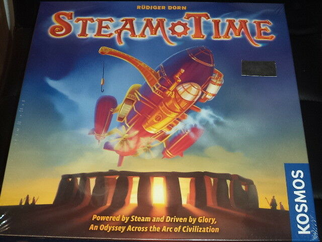 Steam Time - Kosmos Games Board Game New