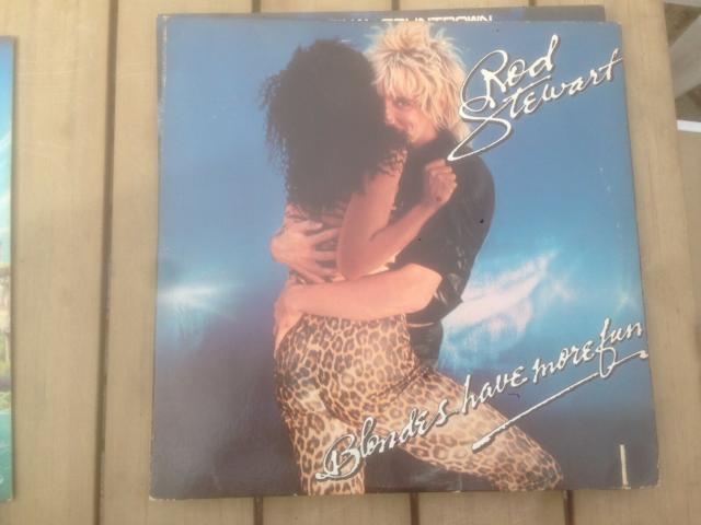 LP, ROD STEWART, Pop, FOTO