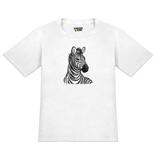 Zebra Face Men/'s Novelty T-Shirt