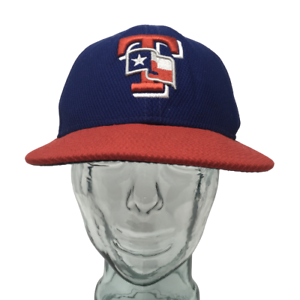 New-Era-Texas-Rangers-Baseball-Cap-MLB-Blue-Red-59Fifty-Fitted-Size-7-1-4-Hat