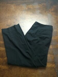 Women-039-s-Talbots-Petites-Heritage-Black-Pants-Size-2P-Ankle-Cropped-Career-Soft