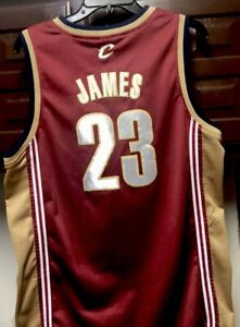 cozy fresh 503bb 246a7 Details about Vtg Yourh XL Nike Team Cleveland Cavaliers Lebron James #23  NBA Home Jersey Cavs