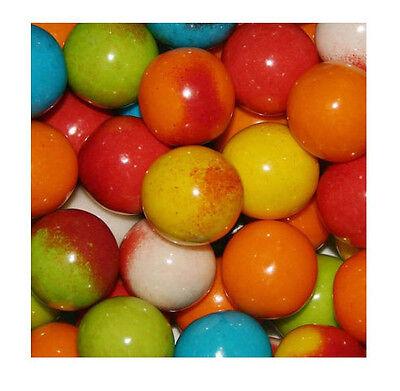 """LIGHTING BOLT Gumballs Bulk Vending 1"""" 24mm 4 Pounds Approx 200 Gum Balls"""