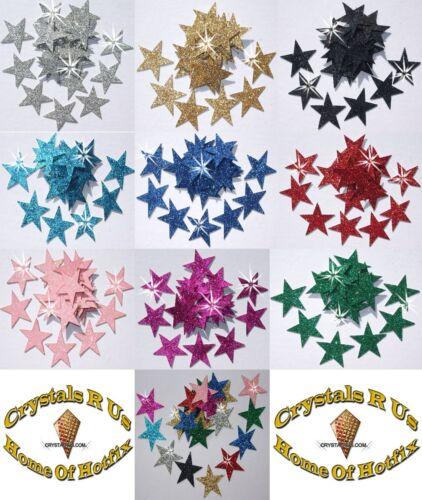 Tissu paillettes 1 pouce 25mm étoiles thermocollants hotfix DIY Craft T-Shirt Transfert patch