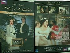 DVD Jane Austens Pride & Prejudice Stolz u. Vorurteil Disc 5 FOLGE 3 + Making of