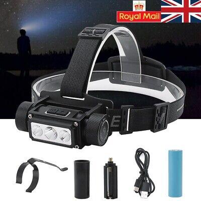 Super Bright Mini Headlamp 4 IN 1 Head Flashlight Torch Lamp With Magnet XI