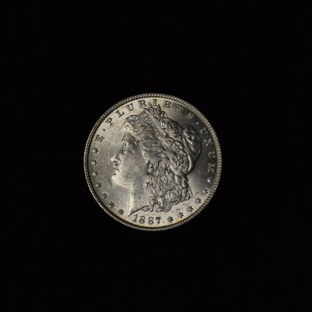 1887 Morgan Silver Dollar From the New York Bank Hoard NGC BU SKU54939