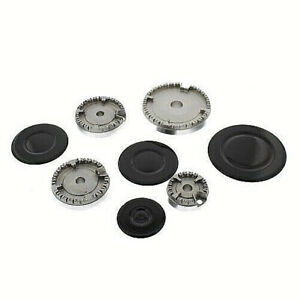UNIVERSAL-REPLACEMENT-GAS-HOB-BURNER-AND-CAP-CROWN-SET-HS19057