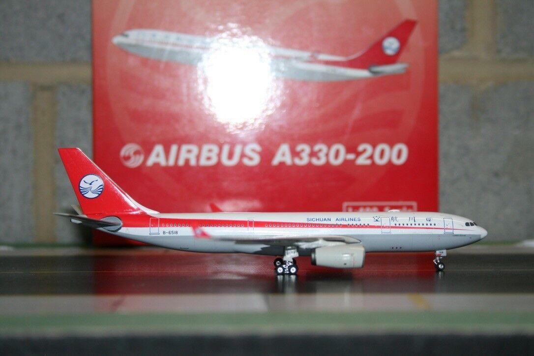 Phoenix 1 400 Sichuan Airbus A330-200 B-6518 (PH10413) Die-Cast Model Plane