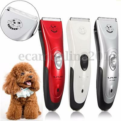 Electric Shaver Low-noise Pet Dog Cat Animal Hair Trimmer Grooming Clipper Kit