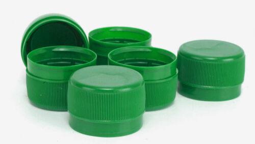 Tamper Evident Cap Green 28mm Screw On tamper evident 28//410 Neck drink bottles