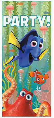 FINDING DORY Scene Setter BIRTHDAY party wall or door poster decoration Disney