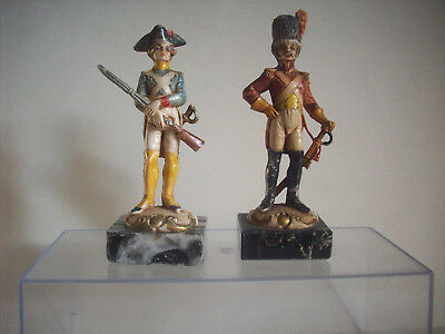 Bellissimo Cromoplasto-fontanini, 2 Soldati Napoleonici, Cadauno € 9,00