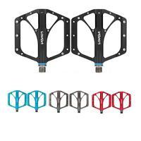 2pcs Folding Bicycle Aluminum Alloy Sealed Bearing Platform Pedals 9/16 Yc