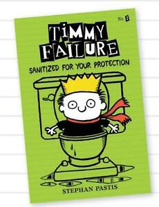 TIMMY-FAILURE-SANITIZED-FOR-YOUR-PROTECTION-Stephan-Pastis-NEW-BOOK-Hardback-10