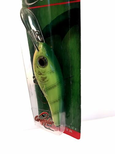 Cotton Cordell 3-3//4-inch Chartreuse Perch Deep Diver Fishing Lure