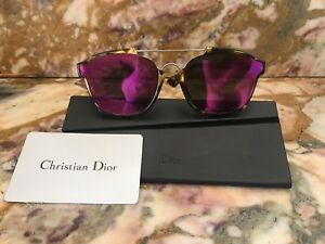 Christian Dior  Abstract  Tortoise Frame Violet Mirrored Square Lens ... 4ce5f1c41c94