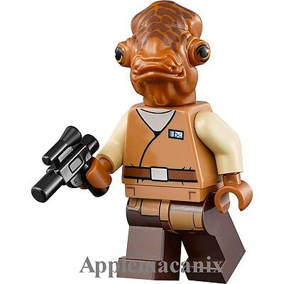 LEGO Star Wars Admiral Ackbar Minifigure 75140 Mini Fig