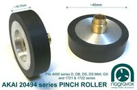 Akai Pinch Roller 20494 For 4000 Series D, Db, Ds, Ds Mkii, Gx, 1721 & 1722