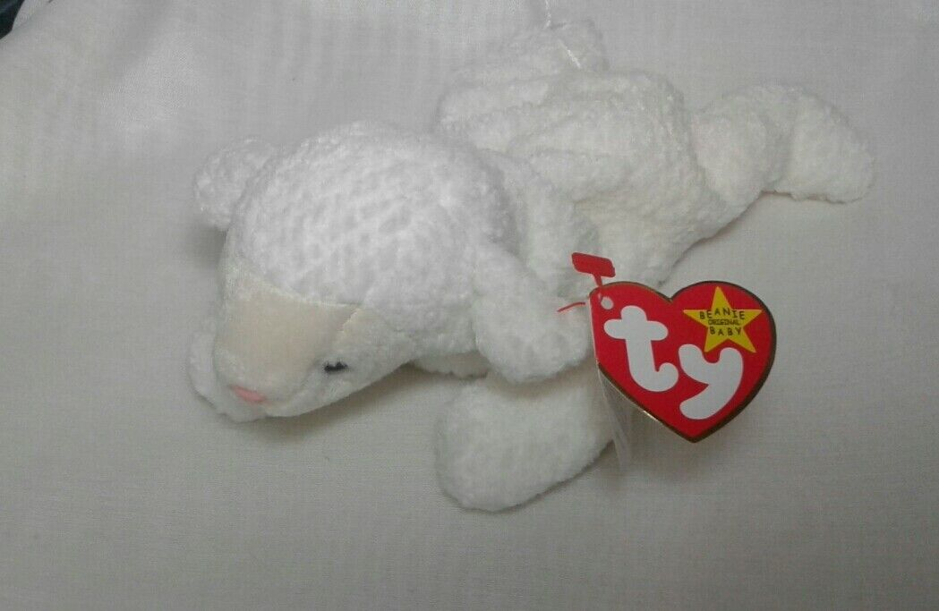 TY Beanie Baby Fleece - RARE with errors - 125b