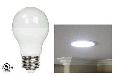 LED 9W Watt = 60W 5000K Daylight Natural White Energy Saving A19 Light Bulb UL