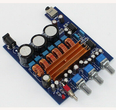 TPA3116 2.1CH Class D 2*50 W+100 W High power Amp Kit  Audio Amplifier Board 1PC