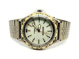 Fossil-Blue-BridgeTek-Company-logo-Mens-Wristwatch-PR-5047-New-Battery