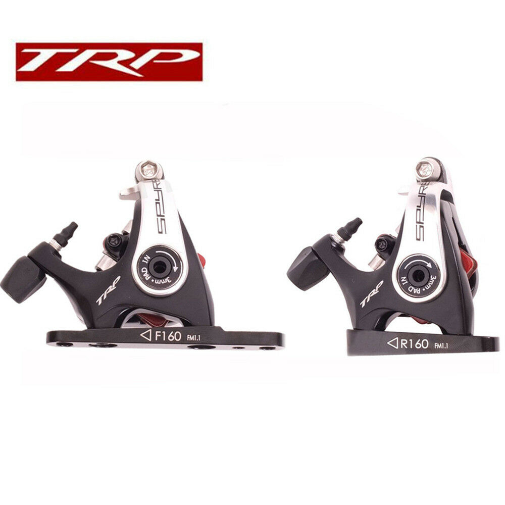 TRP Spyre Flat Mount Road Bike Mechanical Disc Brake Front Rear 160 caliper