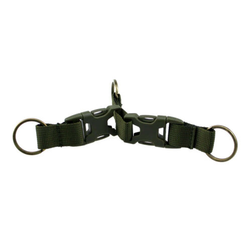 Molle Tactical Backpack Belt Buckle Double Key Chain Quick Release Buckle