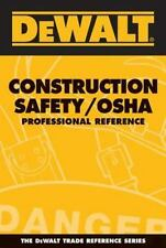 DEWALT Construction Safety OSHA Professional Reference Book, Free Shipping, NEW!