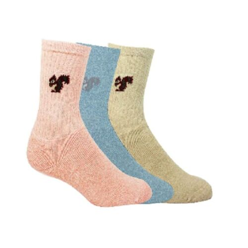 *BARGAIN* All Terrain Socks sz 4-7 Ladies Bramble 2 Packs Of 3 Pairs!! 6 Pairs