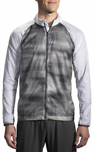 Grey Pleasant In After-Taste Men's Clothing Selfless Brooks Lsd Mens Running Jacket Activewear
