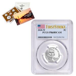2020-W Jefferson Nickel PCGS PF 69 FS (w/ 2020-S US Mint Proof 10-Coin Set)