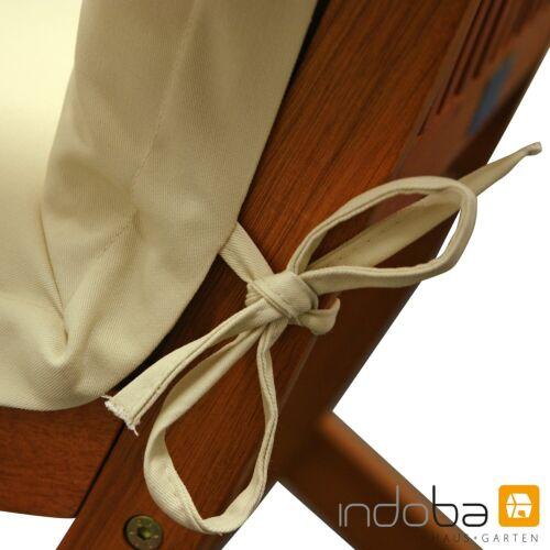 Deck Chair Coussin édition sont Tirage surface d/'assise édition-très épais-Beige