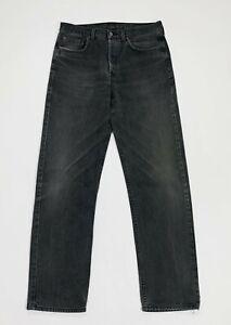 Rifle-jeans-uomo-usato-gamba-dritta-W34-L34-tg-48-denim-boyfriend-grigio-T5130