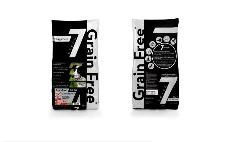 Seven grain free super food 80 20 meat