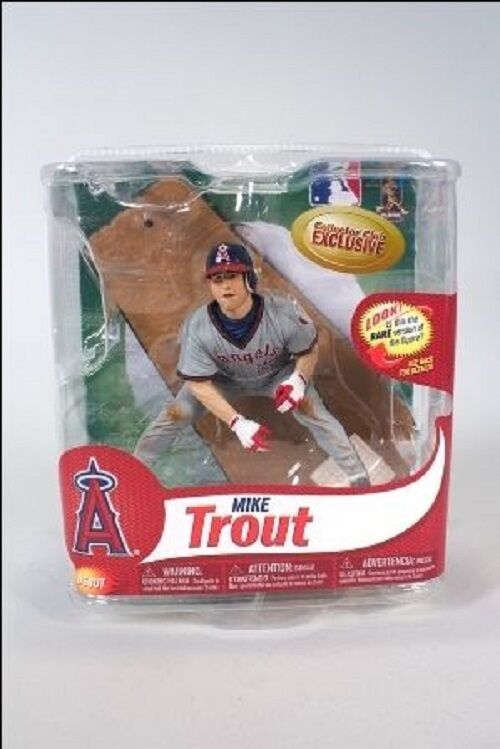 MLB Mike Trout Collectors Club Exclusive 6  Figure by McFarlane