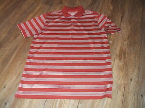 Men-039-s-NIKE-Dri-Fit-Tour-Performance-Golf-Polo-Shirt-Sz-Large-L-Polyester-Striped