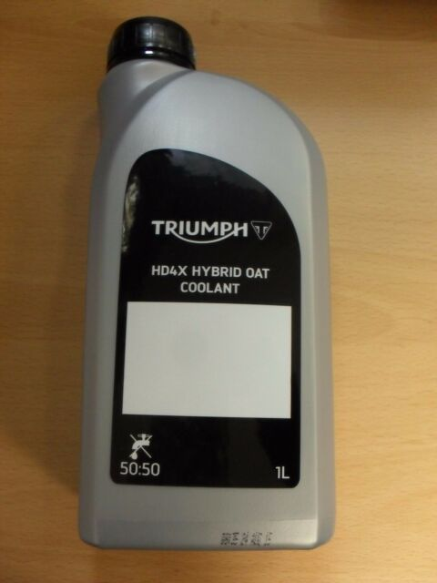 Genuine Triumph Motorcycle Hd4x Oat Coolant Tiger Sprint Street 675 Bonneville