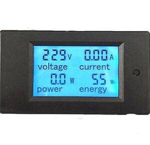 20//100A AC Multi-Function Digital Monitor Power Indicator Energy Meter Voltmeter