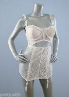 Victorias Secret $188 Designer Collection Lace Corset Bustier Garter 36d