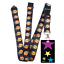 High-quality-ID-badge-holder-RAINBOW-STARS-amp-Secure-Lanyard-neck-strap-soft thumbnail 10