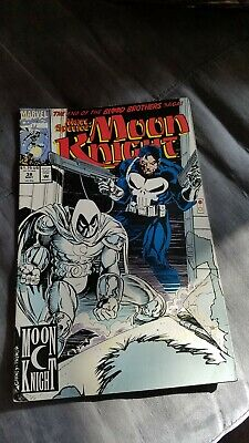 Moon Knight # 38 Marc Spector guest: Punisher USA, 1992
