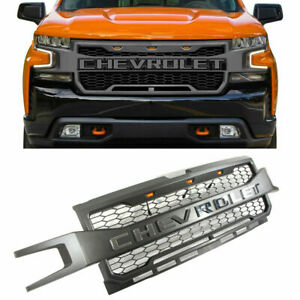 for chevrolet silverado 1500 2019-2020 front grill grille