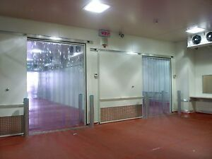 Image Is Loading 3 039 X 7 Strip Curtain Door